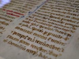 [Picture: Manuscript Leaf 5]