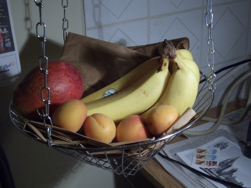 [Picture: Fruit basket]