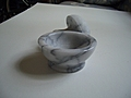 [Picture: White Marble Pestle and Mortar 4]