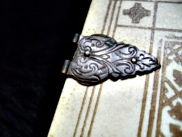 [picture: Old Bible 7: Closeup of clasp]