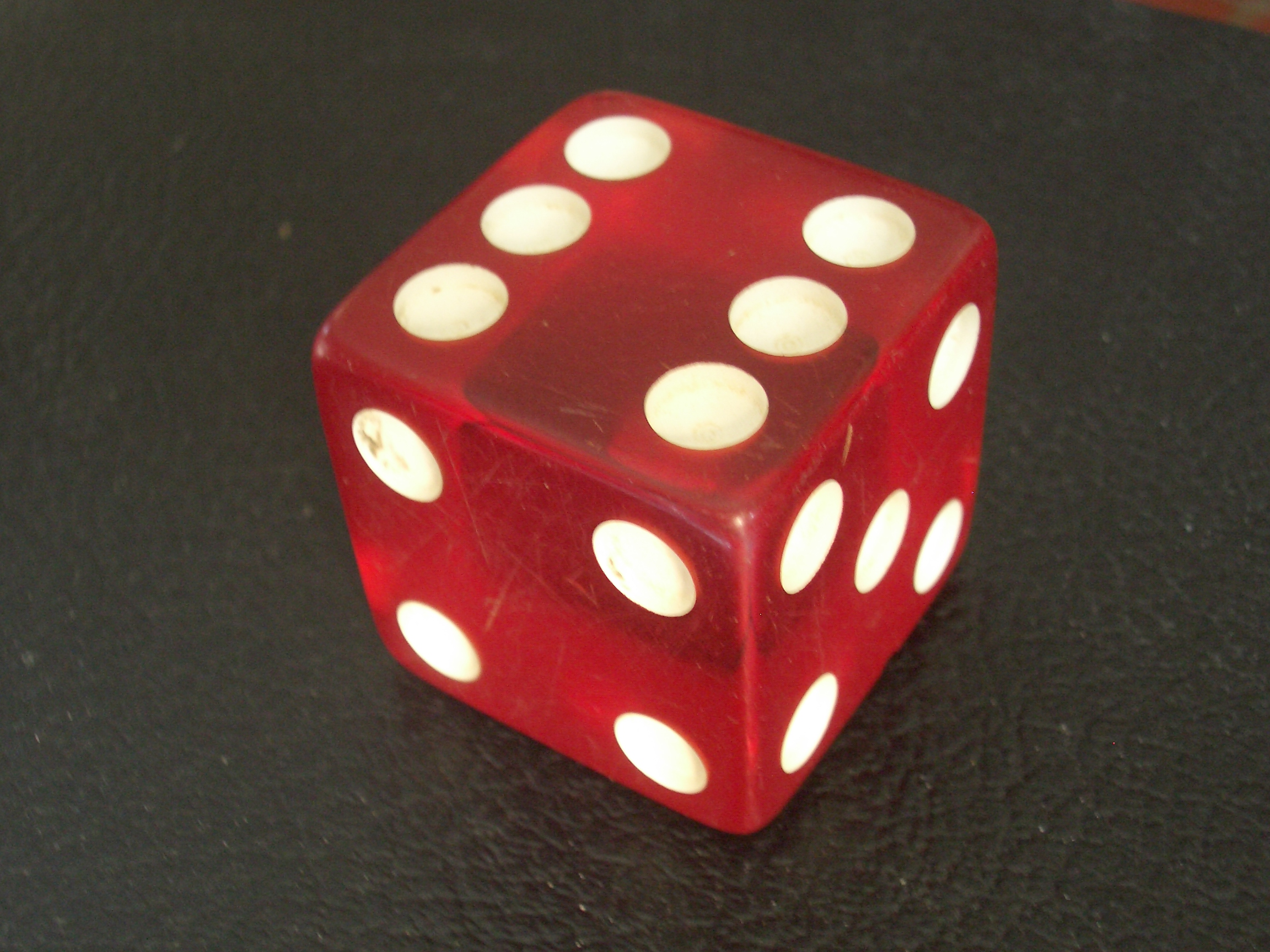 [Picture: coloured gaming dice]