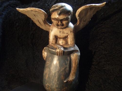 [Picture: Winged Cherub Boy 5]