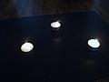 [Picture: Tea lights]