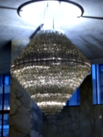 [picture: Glass Chandelier]