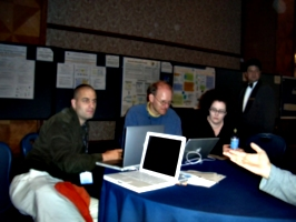 [picture: Dean Jackson, Bert Boss, Amy van der Hiel]