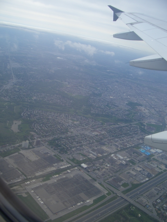 [Picture: Toronto from Above]