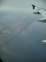 [Picture: Lake Ontario From Above]