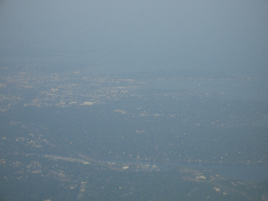 [Picture: Approaching New York City]