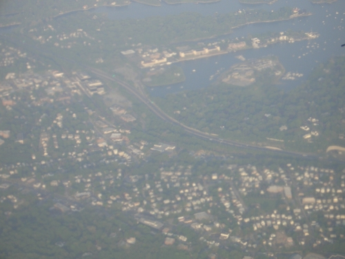 [Picture: Approaching New York City 2]