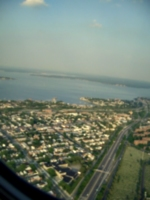 [Picture: Approaching New York City By Air 6]