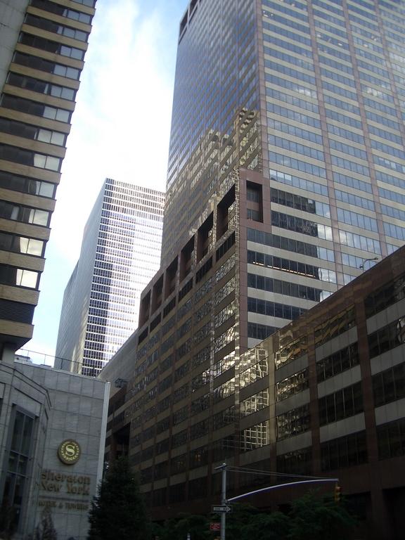 [Picture: New York Sheraton Hotel]