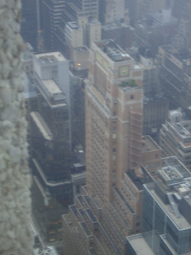 [Picture: Looking Down on Manhattan 7]