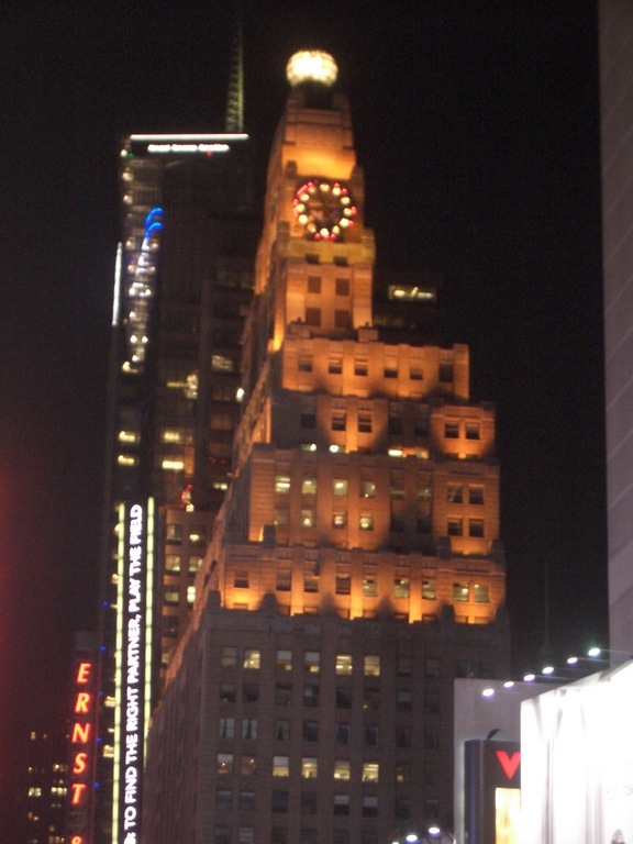[Picture: Time Square, New York]