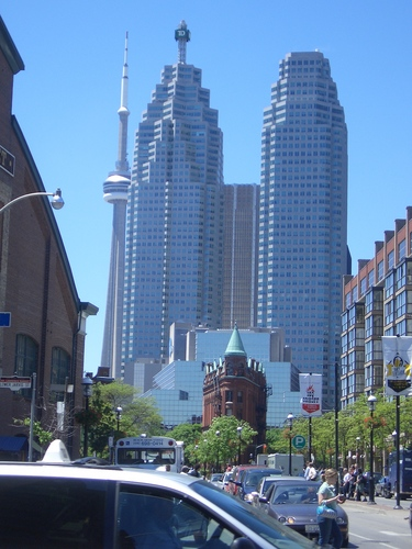 [Picture: Downtown Toronto]