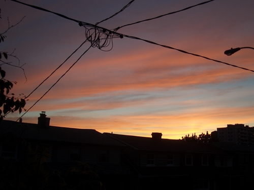 [Picture: Sunset on Lauder Avenue 3]