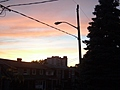 [Picture: Sunset on Lauder Avenue 4]