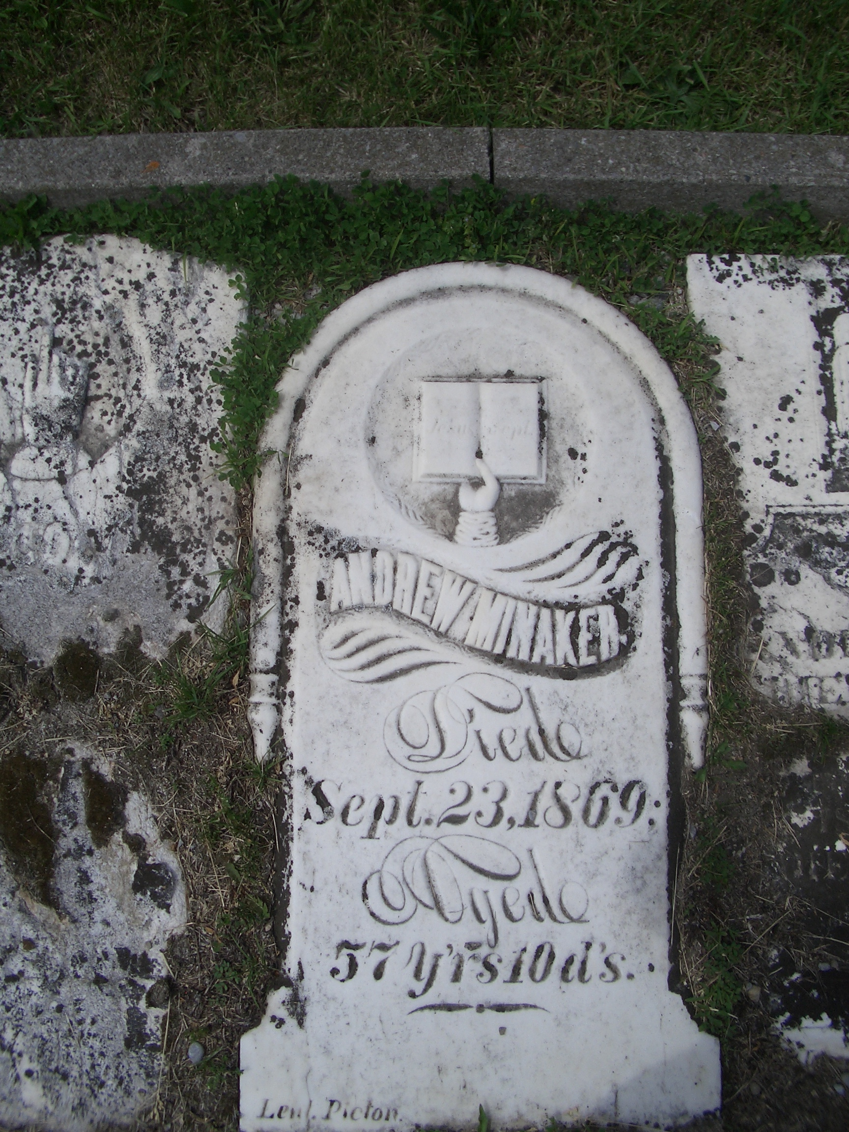 [Picture: Another gravestone]