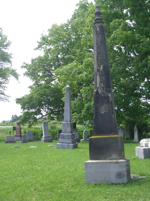 [Picture: Gravestones]