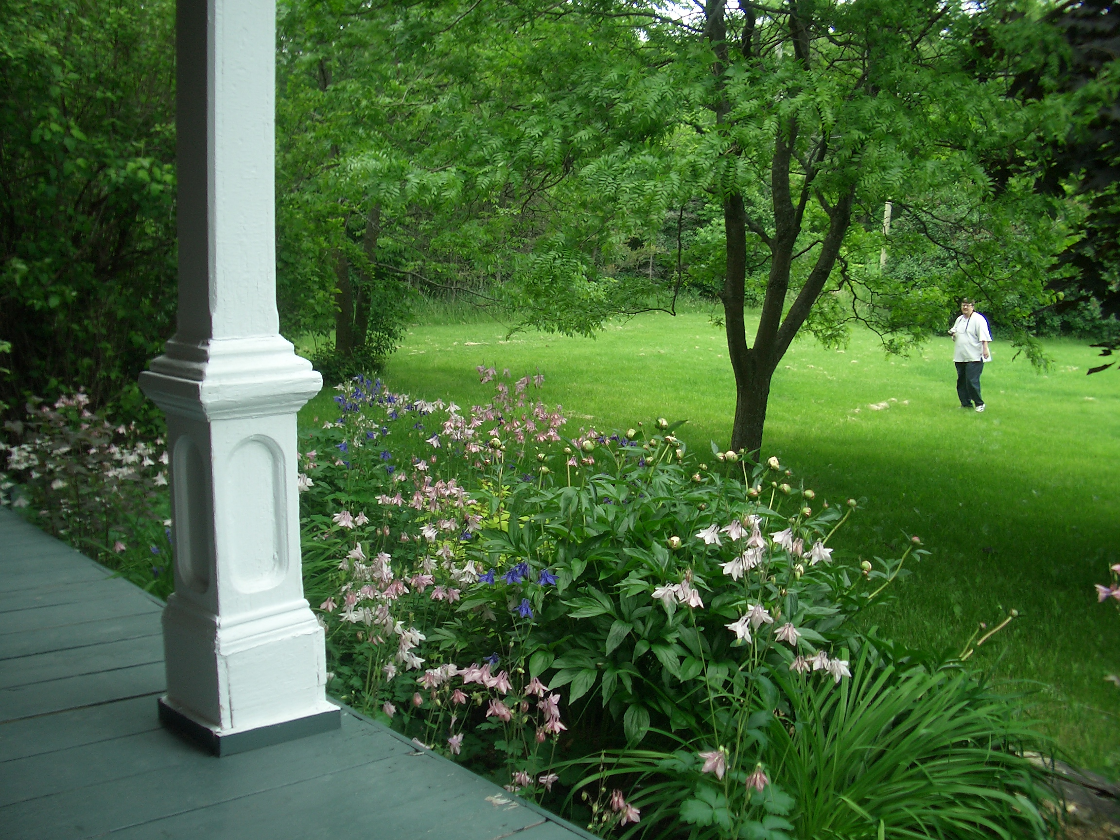 [Picture: Flowers off the Porch]