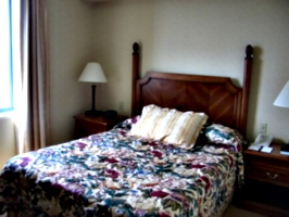 [picture: Hotel bed 2]