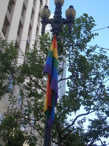 [Picture: SF Rainbow Flag]