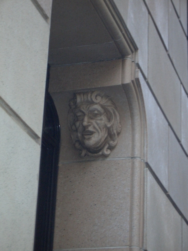 [Picture: Stone face]