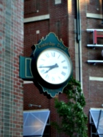 [picture: Cambridge Trust Wall Clock]