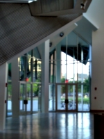 [picture: Stata Center Entrance]