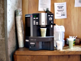 [picture: The Famous Coffee Machine]
