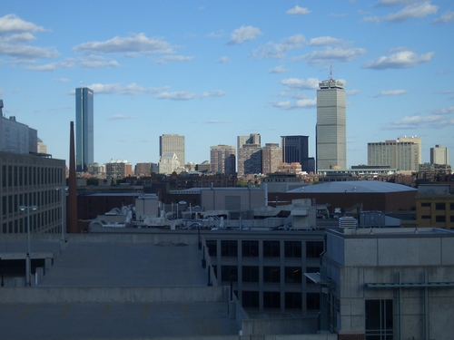 [Picture: View from the hotel window 2]