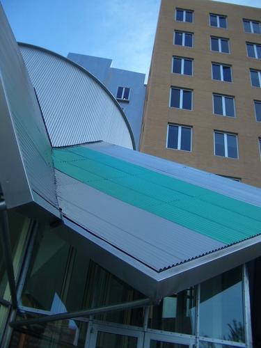 [Picture: Stata Center Entrance 2]