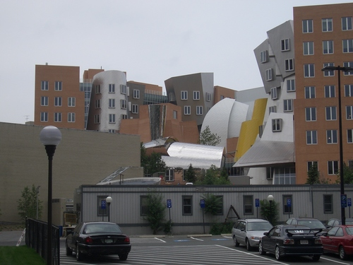 [Picture: Stata Center from the back 2]