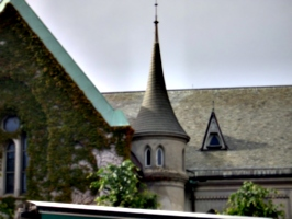 [picture: Church turret]