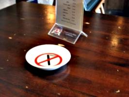 [picture: No Smoking Ashtray]