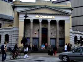 [picture: The poshest McDonald's?]
