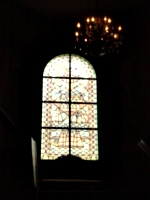 [picture: Stained glass window]