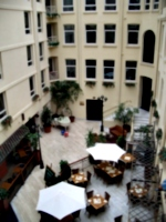 [picture: The atrium of the hotel]