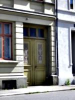 [picture: Carved wooden doorway 2]