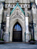 [picture: Gothic Style Entrance]