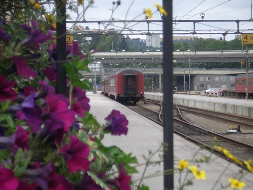 [Picture: Railway in Norway]