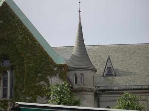 [Picture: Church turret]