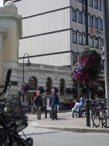 [Picture: Norwegian plaza]