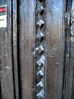[Picture: Carved door]