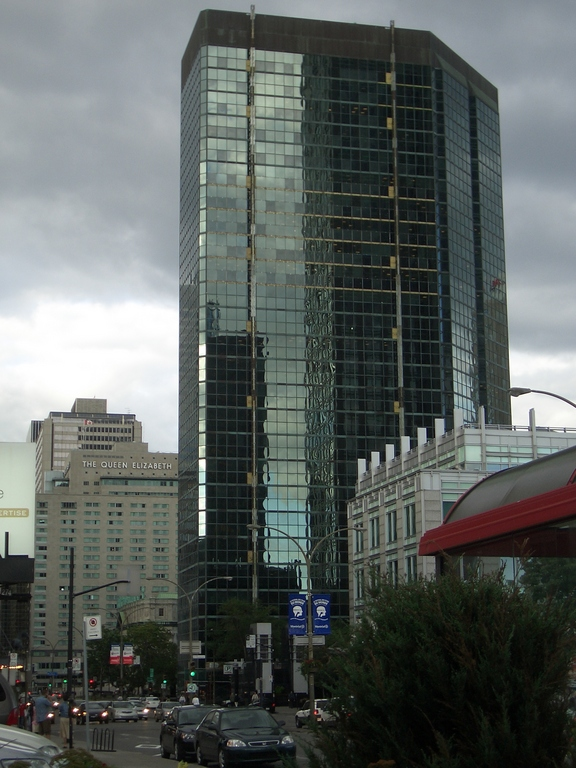 [Picture: Tall shiny building]