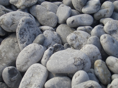 [Picture: Pebbles]