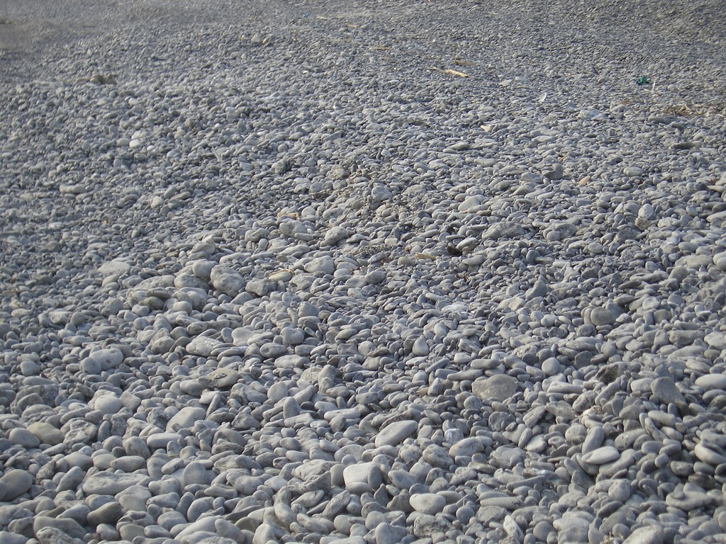 [Picture: Pebbly Beach]