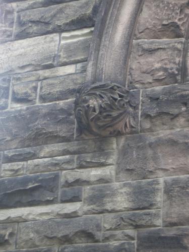 [Picture: Carved finial]