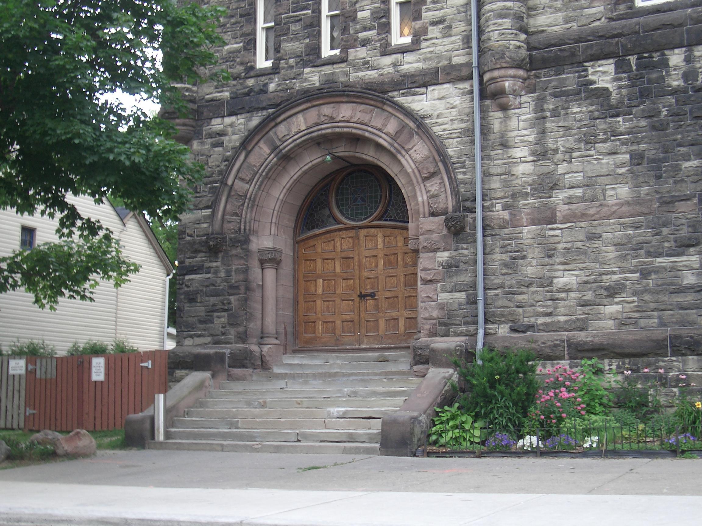 [Picture: Church Door]