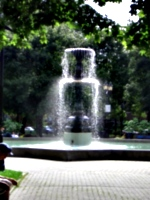 [picture: Fountain in sunlight]