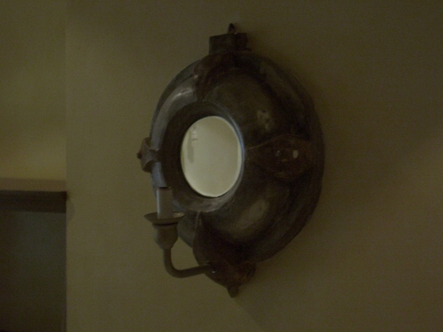 [Picture: Porthole Mirror with Candle 2]